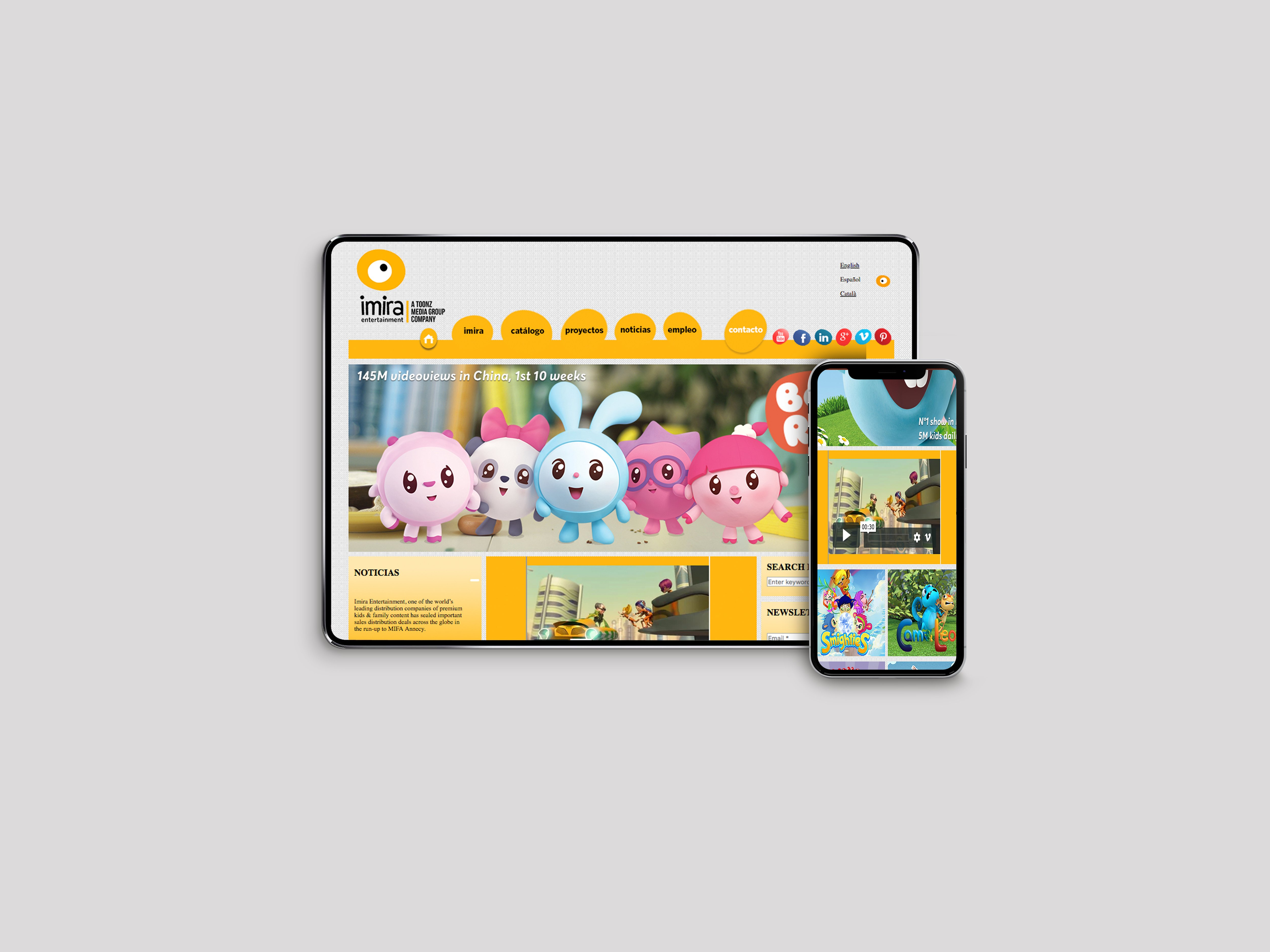 Imira Entertainment | Web & Apps