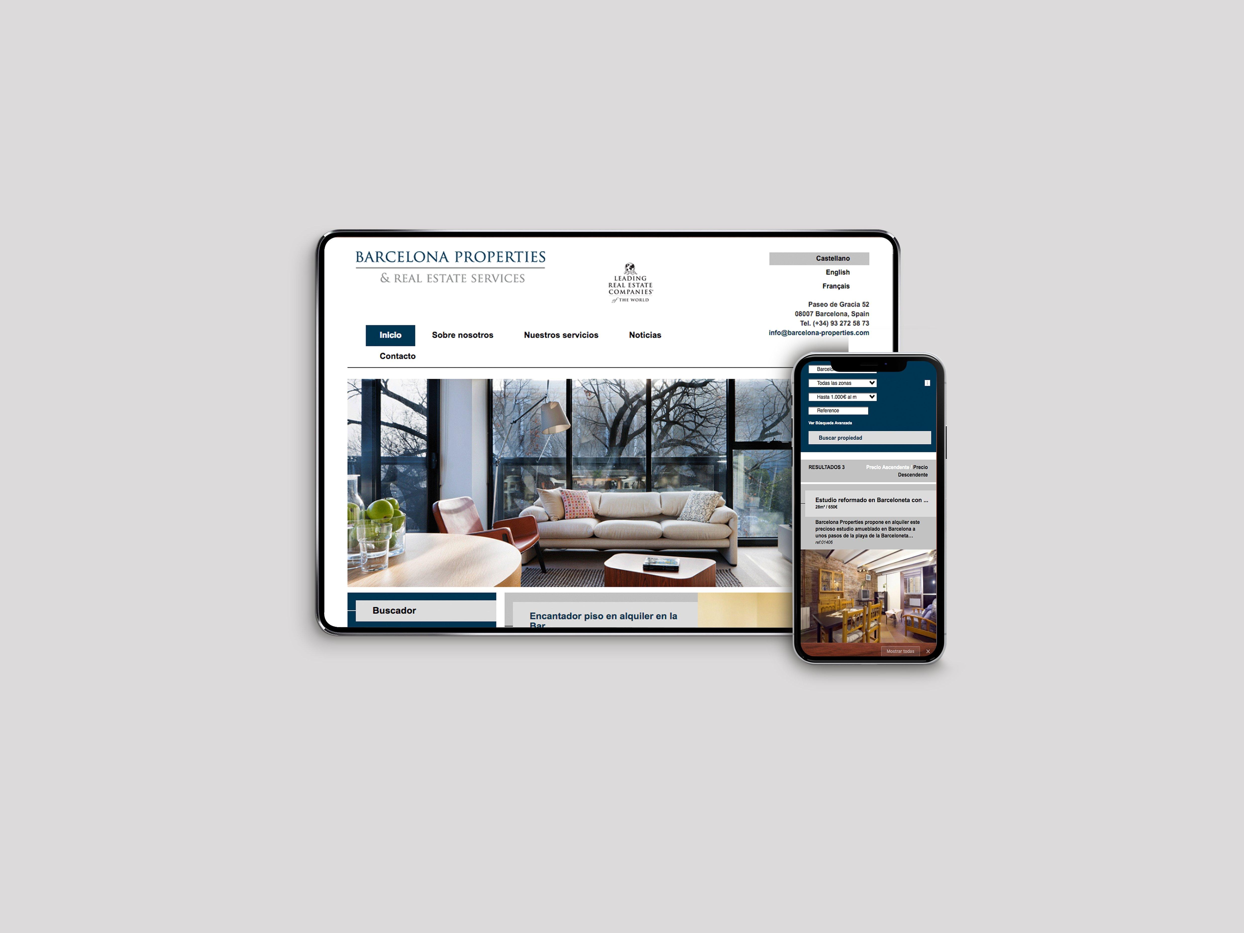 BDI | Web Barcelona Properties