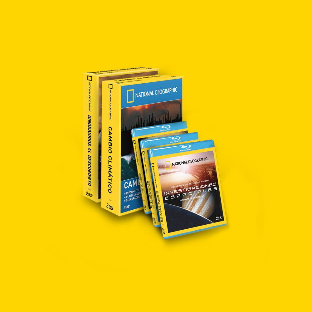 Trackmedia, National Geographic | Packs y DVD
