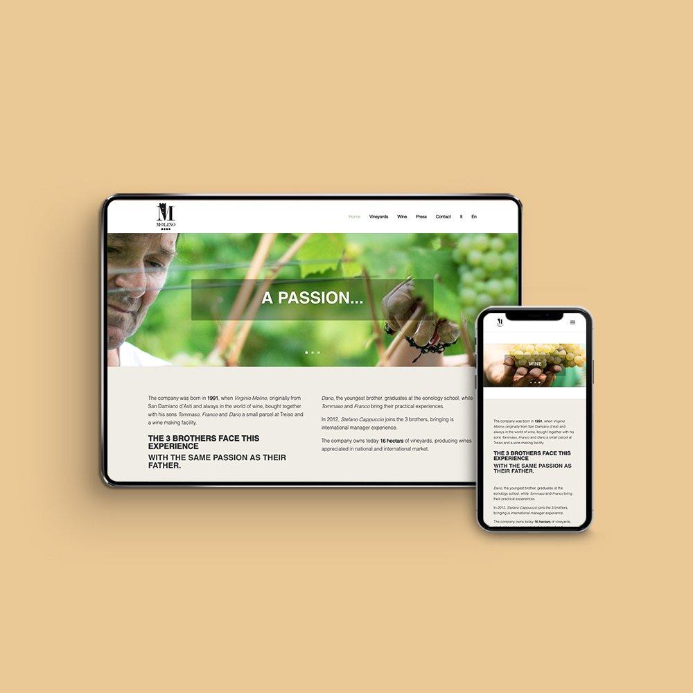 Agricola Molino | Web